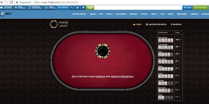 ИКЧ покер в 1хбет
