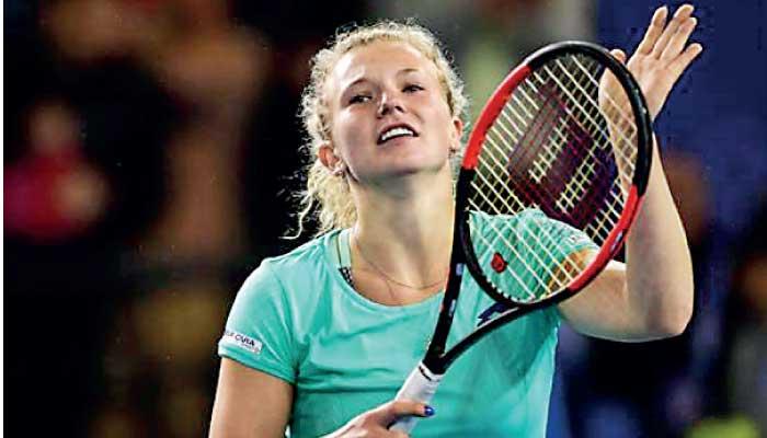Синякова - теннис